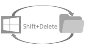 Cara Memulihkan File Shift+Delete