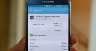 Apa itu Android System Webview