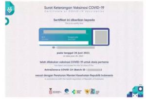 Cara Download Sertifikat Vaksin Covid-19 Terbaru