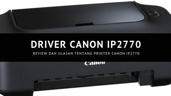 Driver Canon IP2772