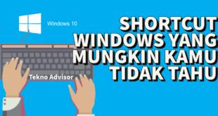 Shortcut Windows yang Jarang Orang Tahu