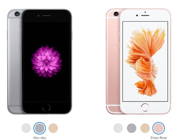 iphone 6 dan 6s