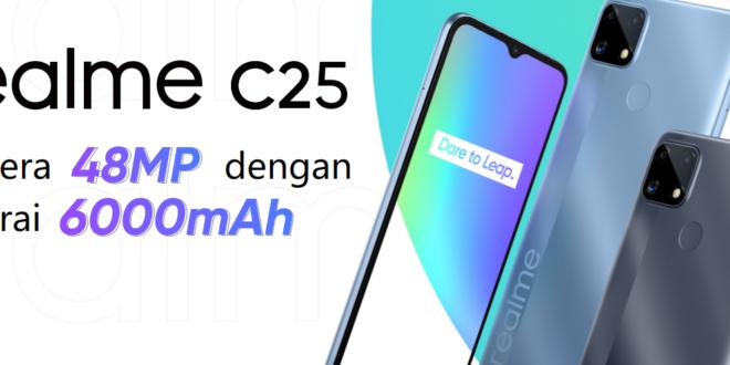 Realme C25 : HP 2Jutaan Kencang dan Irit