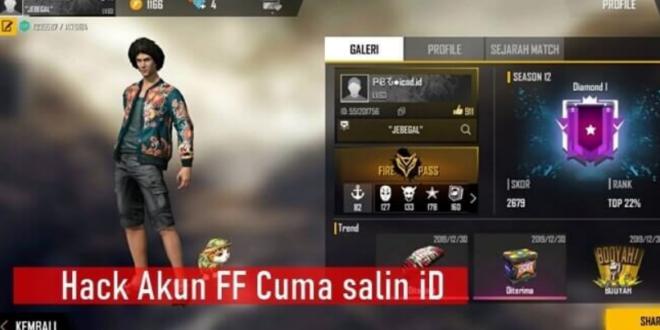 APK Hack Akun FF Dengan Salin ID / Hack Akun Free Fire Salin ID / Hack Akun FF Dengan Cara Salin ID / Salin ID Free Fire Hack